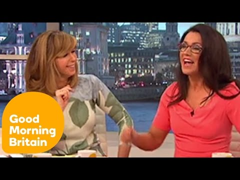 Susanna Reid's Wardrobe Malfunction | Good Morning Britain