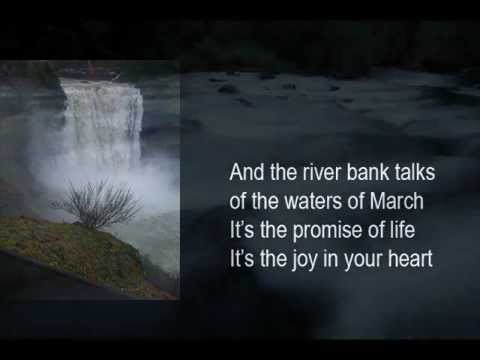 Mary Cleere Haran - Waters Of March (with Lyrics)