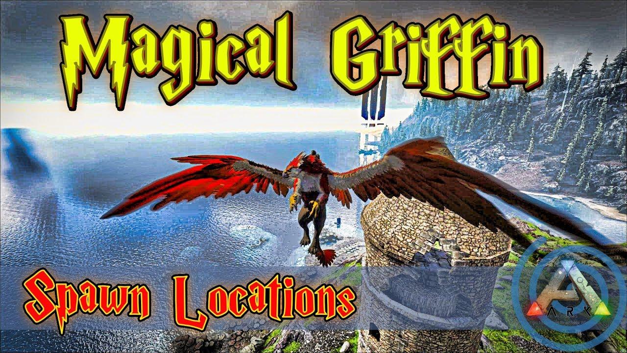 Ark Ragnarok Griffin Spawn Locations: Best Areas on Ragnarok to Find & Tame  High Level Griffins