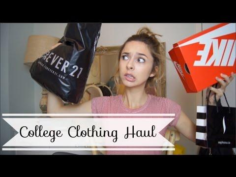 Back to School Clothing Haul TRY ON   Chelsea Trevor