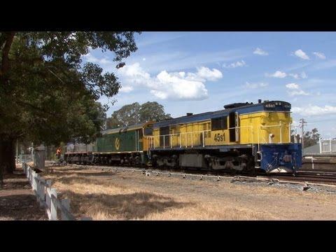 NSW Railways - Main Southern Line: Australian Trains
