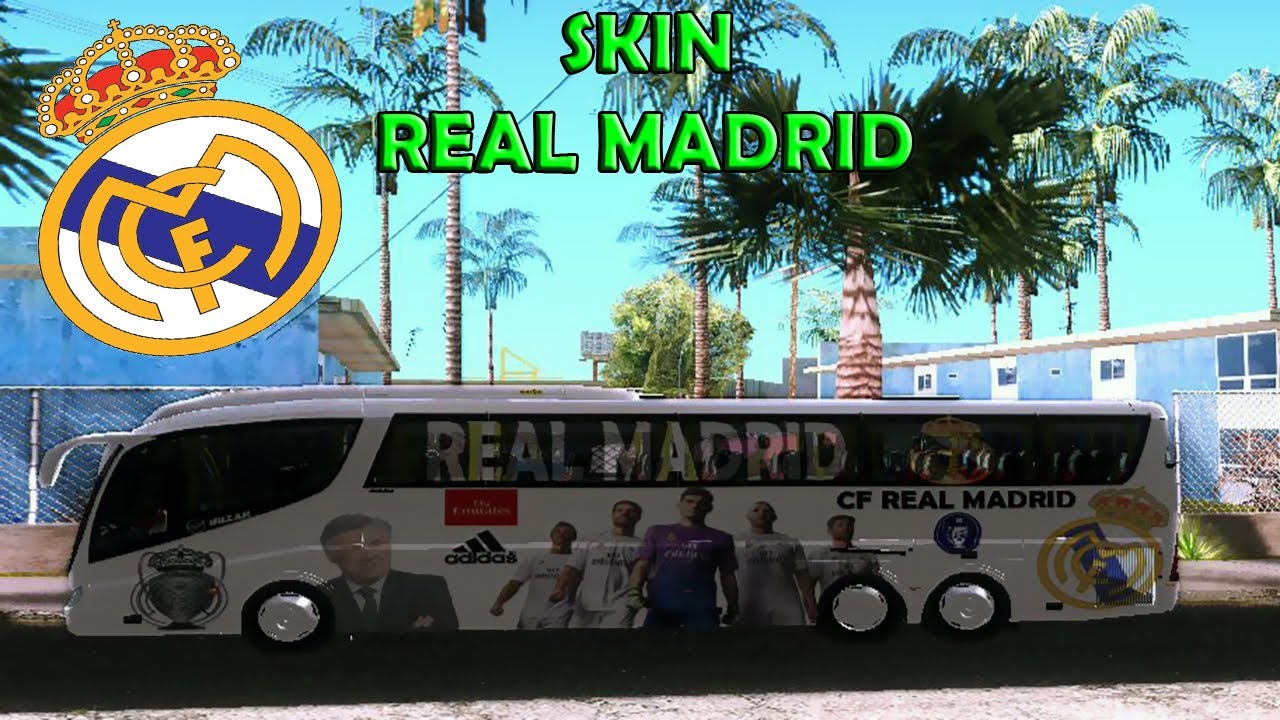 CF REAL MADRID • COACH IRIZAR PB - YouTube