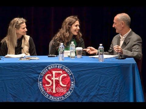 Jessica  Hecht Celebrates Arthur Miller @ St. Francis College