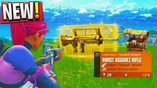 "WORLDS FIRST WIN with NEW ""LEGENDARY BURST ASSAULT RIFLE"" - Legendary Burst Assault Rife Gameplay!"