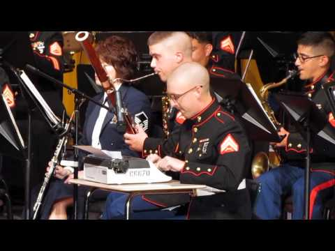Typewriter by Leroy Anderson - III MEF Band