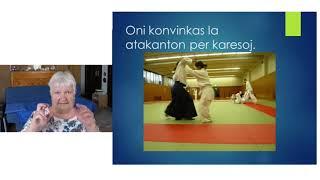 VK 2020: Klerige: Aikido kaj AkidEo (Mirejo Grosjean, Svislando)