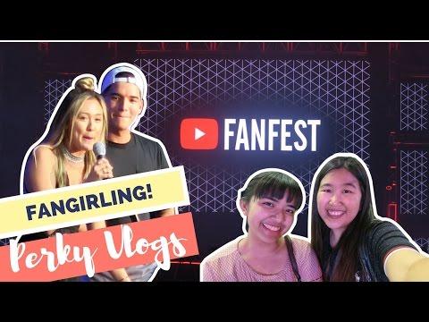 ALEX WASSABI AND LAURDIY!   YouTube Fanfest Manila 2017