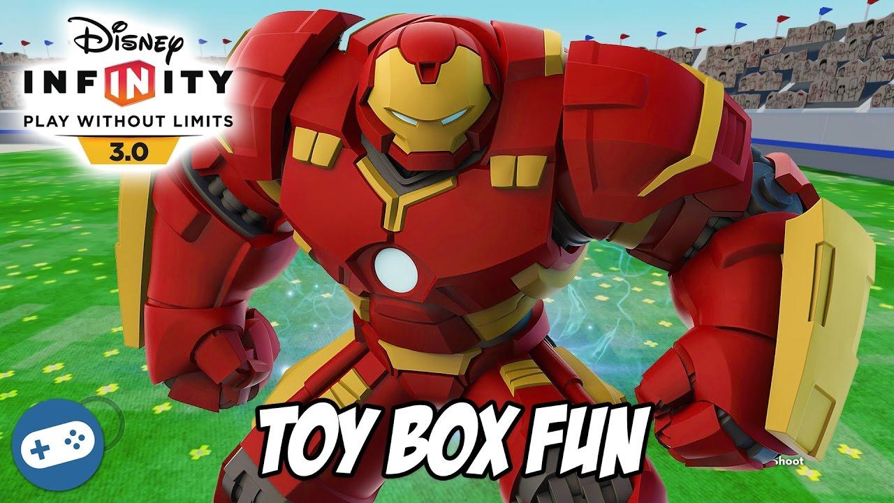 disney infinity toy box how to build 3.0