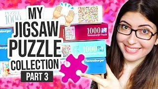 MY JIGSAW PUZZLE COLLECTION PART 3 - 1000 Piece Puzzles