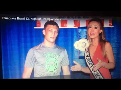 Chris Williams Stone and Ken Beverly Viper Pit MMA interview with Miss KY
