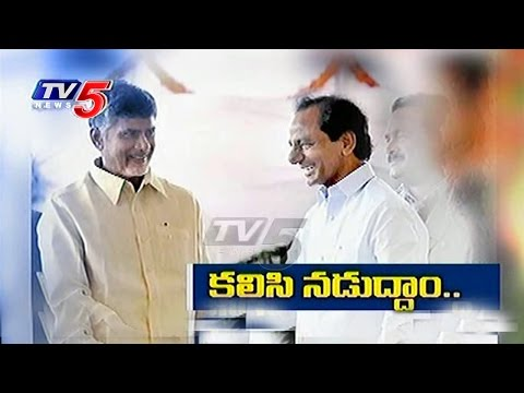 CM KCR And CM Chandrababu To Discuss On Water Disputes | TV5 News