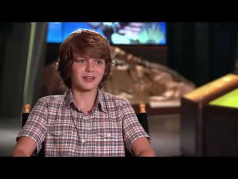 Jurassic World Gray Official Movie Interview [Ty Simpkins]