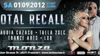 01.09.2012 Technoclub - Total Recall Night / Technoclub Volume 40 Release Party with Claudia Cazacu