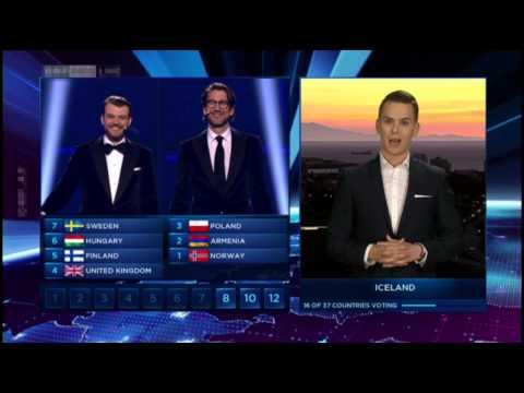Eurovision Song Contest 2014 - Voting für Conchita Wurst - Österreichischer Kommentar ORF
