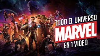 El Universo Cinematografico de Marvel en 1 Video I Fedewolf
