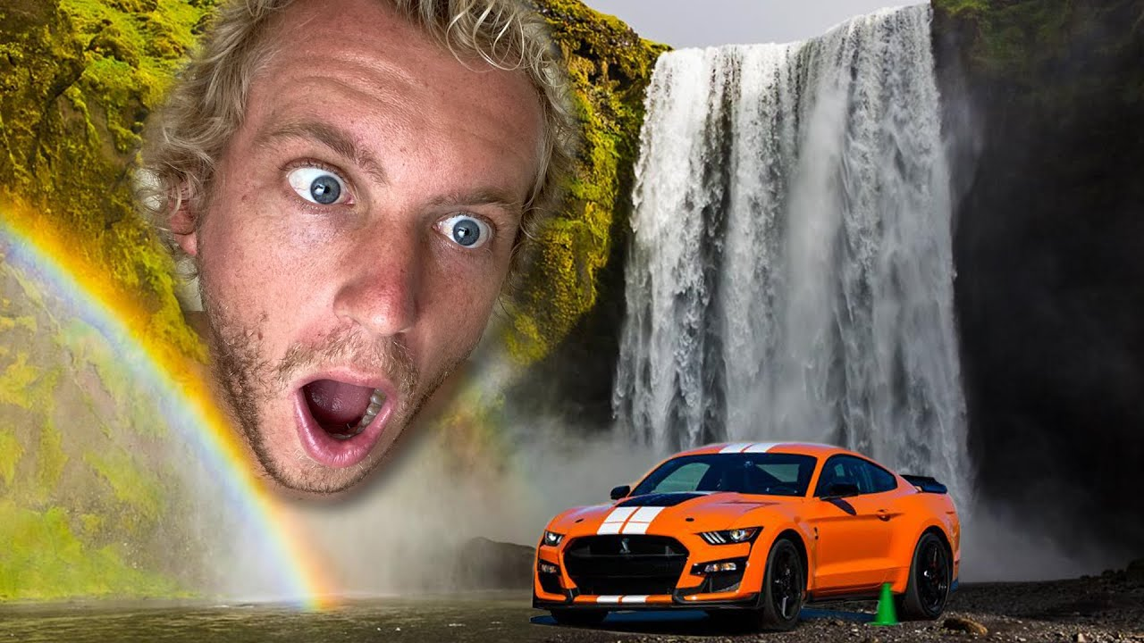 FOUND RACE CAR IN WATERFALL (Not Clickbait)