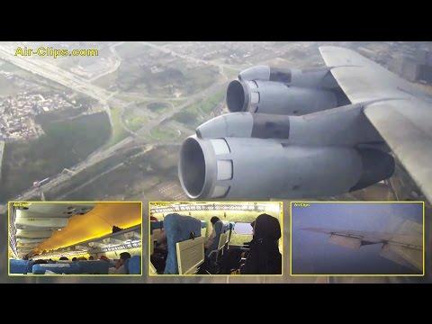 Saha Air Boeing 707 Tehran to Kish - world's last 707 pax flights by [AirClips full flight series]