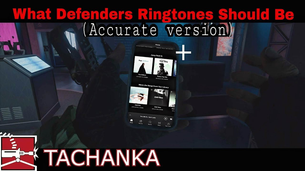 What Defenders Ringtones Should Be Rainbow Six Siege Accurate Version