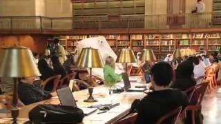 Флешмоб в библиотеке (охотники за приведениями)