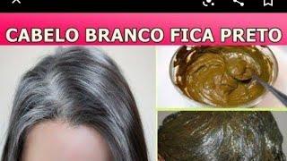 Cabelo Branco Nunca Mais: ESCURECE cabelo em 1 DIA e FORTALECE