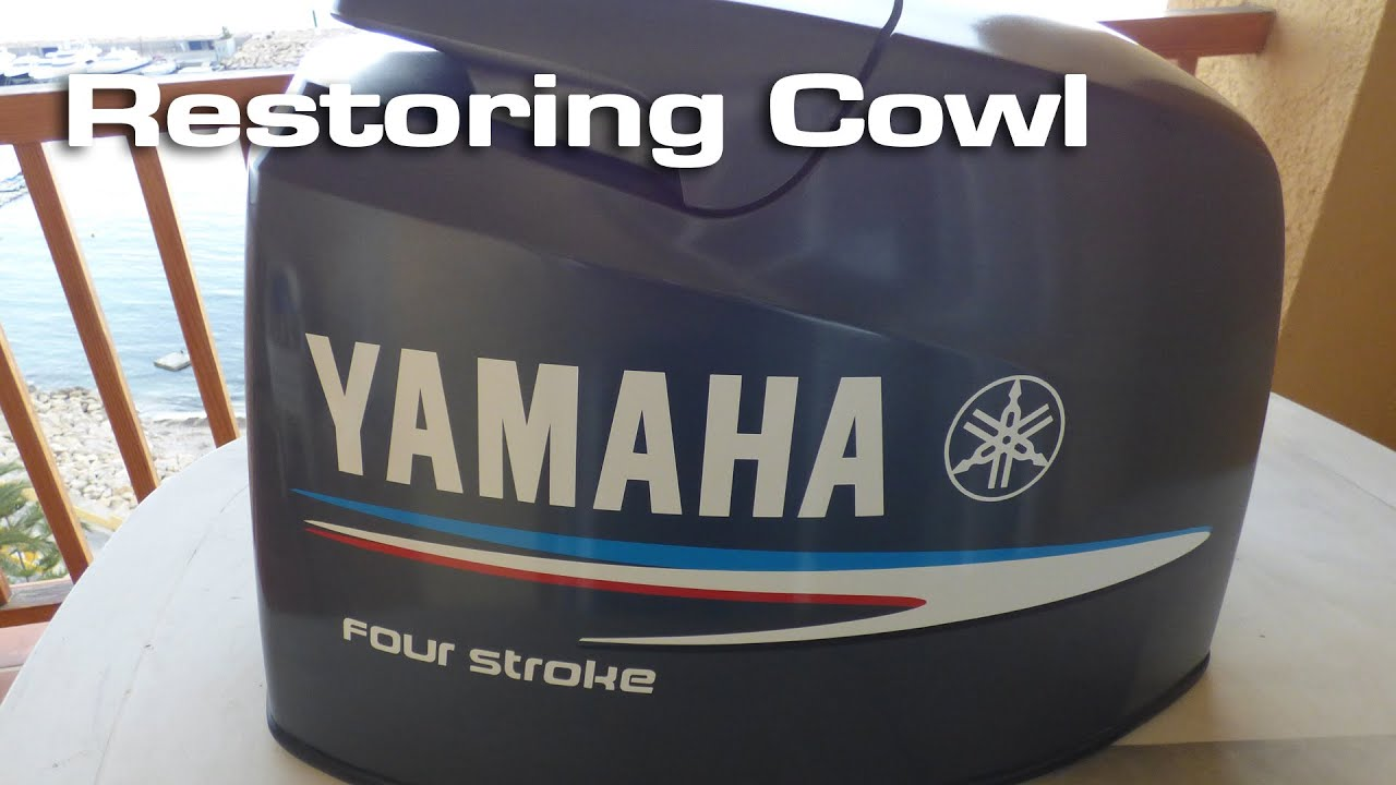 Yamaha Spray Paint >> Restoring Yamaha Outboard Cowl - YouTube