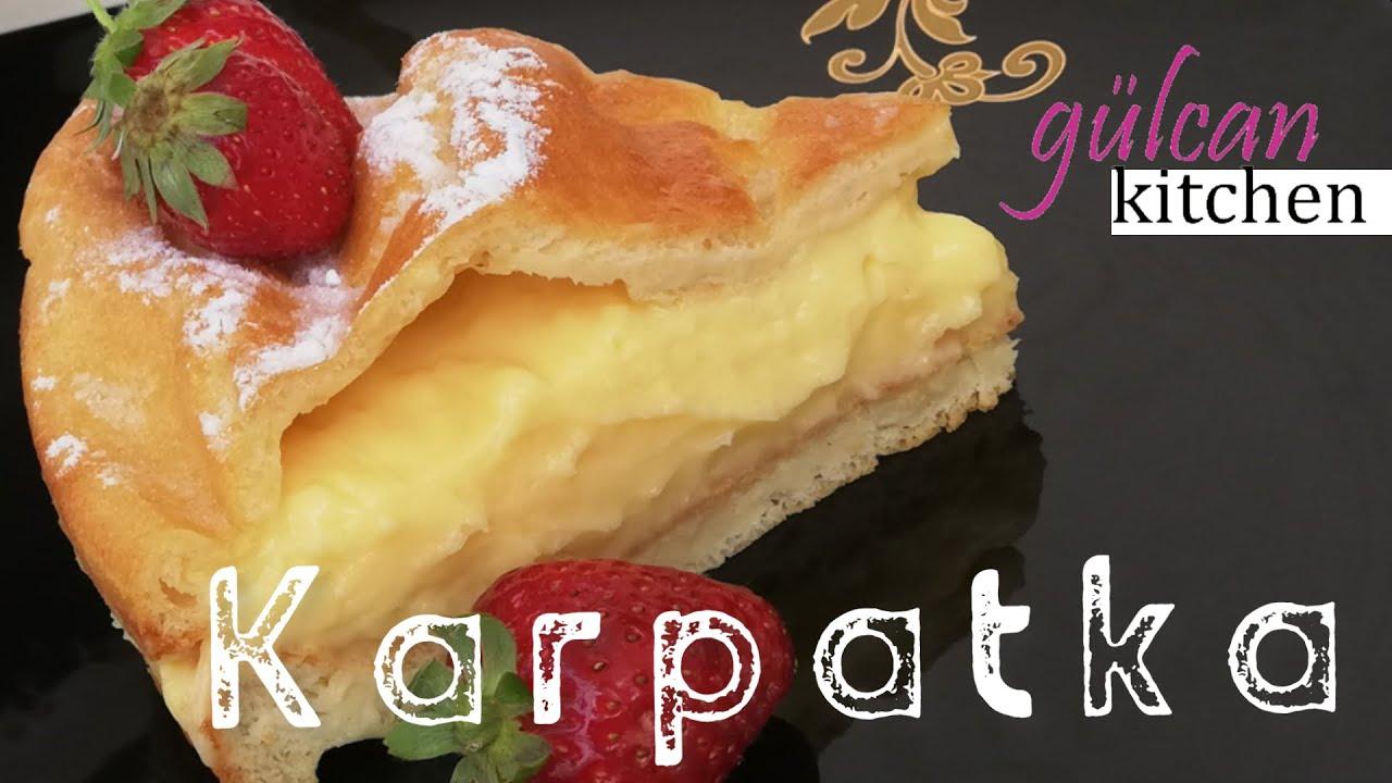 KARPATKA ✔ciasto karpatka-Nefis Polonya Pastası-Gülcan Kitchen