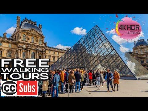Louvre Museum 4K, Paris 2016, GoPro Hero 4