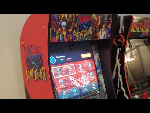 X-Men vs Street Fight/Marvel vs Capcom (Arcade 1Up) Send all problems to CS. TY from Footie Laughs