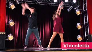 "Violetta 2 English - Diego and Fran dancing (""More Tears"") Ep.70"