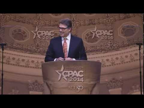 CPAC 2014 - Governor Rick Perry (R-TX)
