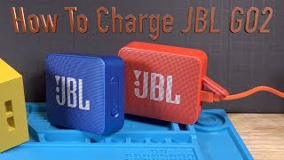 How to Charge JBL GO 2