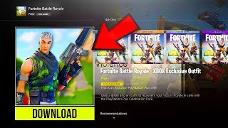 "*NEW* How To DOWNLOAD FREE!! ""XBOX Exclusive Outfit"" NEW SKIN UPDATE! (Fortnite Battle Royale) 🤑"