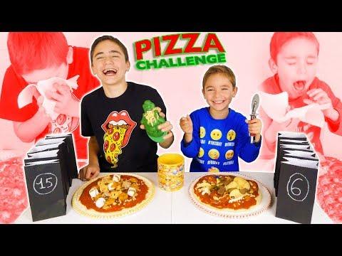 PIZZA CHALLENGE entre Frres - Les Pires Pizzas !!!