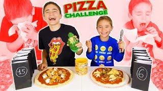 pizza challenge entre frères les pires pizzas 🍕🤢