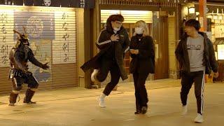 サムライマネキンドッキリ~浅草編~/SAMURAI Mannequin Prank in Asakusa, Japan