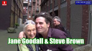 Steve Brown has a Magic moment/interview with living Legend and Icon Jane Goodall.