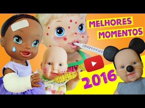 Melhores Momentos do Canal Lilly Doll 2016 - Retrospectiva