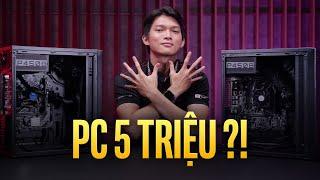 PC giá 5 triệu chơi được game gì? GVN Ares và GVN Usopp