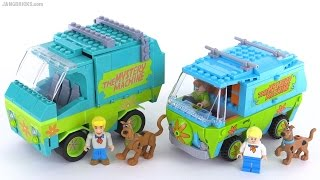 COBI / CB Scooby Doo Mystery Machine & LEGO comparison