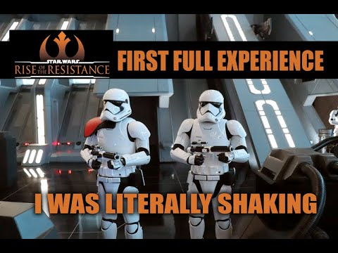 Rise of the Resistance Full Ride My First Experience 'I WAS LITERALLY SHAKING'