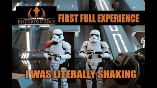 "Rise of the Resistance Full Ride My First Experience ""I WAS LITERALLY SHAKING"""