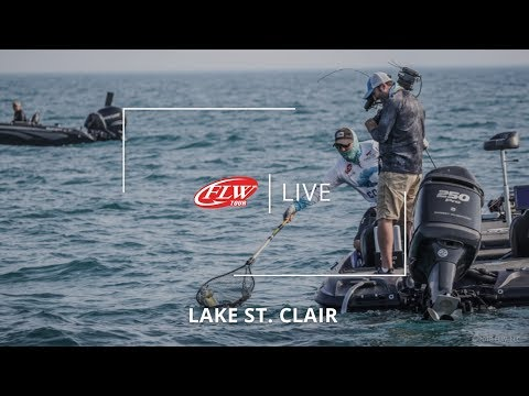 FLW Live Coverage | Lake St. Clair | Day 4