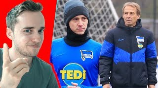YouTuber UNDERCOVER bei Hertha BSC Berlin.. (REAKTION)