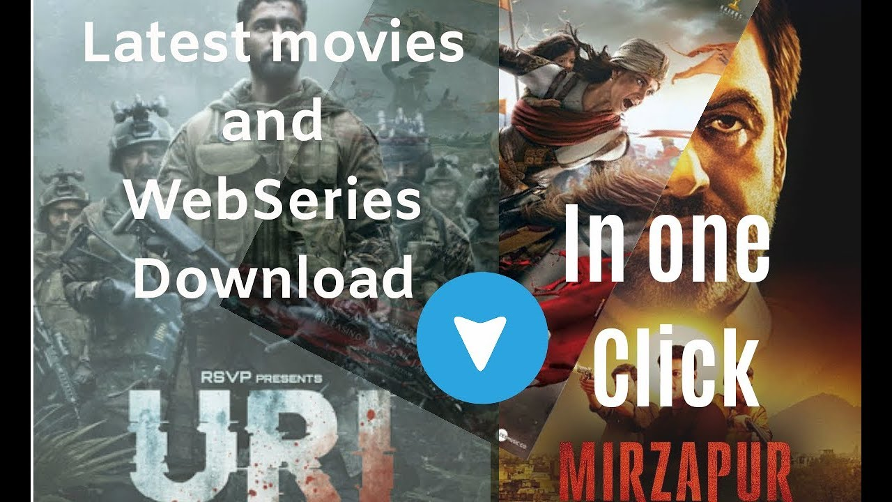 Download how to download latest bollywood movies like URI,  Manikarnika in hd free   and  webseries in hd ???
