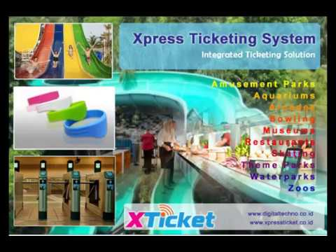 Software Waterpark Management Ticketing System