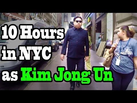 Watch: North Korea's 'Kim Jong Un' Visits Trump Tower and NYC Landmarks