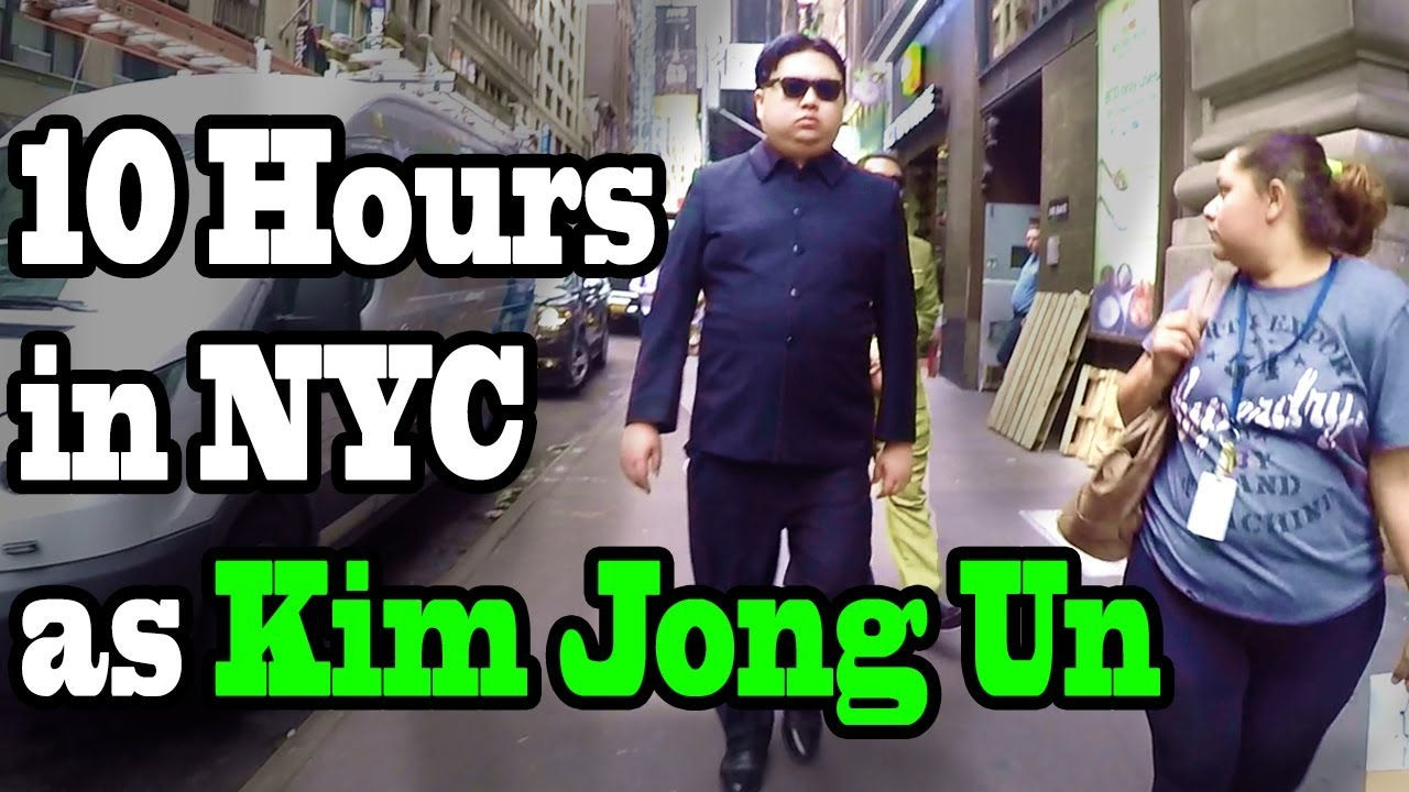 10 Hours Of Walking In Nyc As Kim Jong Un Youtube