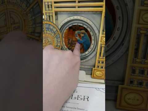 20161220《J.K羅琳的魔法王國:珍奇異獸百寶箱》開箱影片