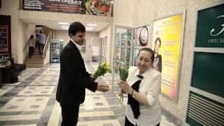 Бизнес Центр Нагатинский приготовил сюрприз 8 Марта