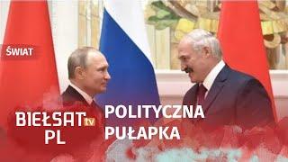 Czy Rosja połknie Białoruś? WIDEO PL